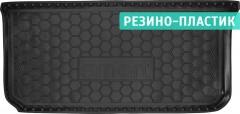 Коврик в багажник для Mercedes Smart Fortwo '08-14, резино-пластиковый (AVTO-Gumm)