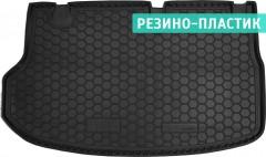 Коврик в багажник для Hyundai H-1 '07-, резино-пластиковый (AVTO-Gumm)