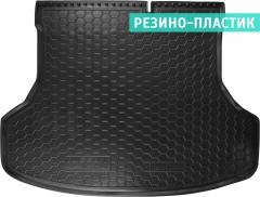 Коврик в багажник для Nissan Sentra '14-, резино-пластиковый (AVTO-Gumm)