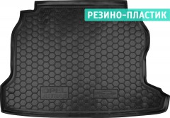 Коврик в багажник для Opel Astra G '98-10, седан, резино-пластиковый (AVTO-Gumm)