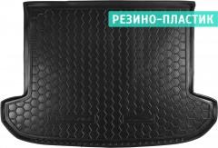 Коврик в багажник для Kia Sportage 2016 -, резино-пластиковый (AVTO-Gumm)
