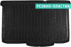 Коврик в багажник для Opel Corsa E '14- хетчбек 5дв., резино-пластиковый (AVTO-Gumm)