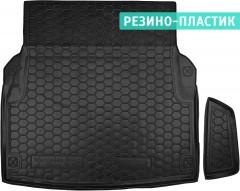 Коврик в багажник для Mercedes E-Class W212 '09-15 складывающееся зад. сидение, резино-пластиковый (AVTO-Gumm)