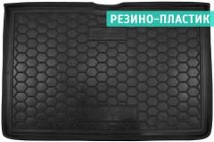 Коврик в багажник для Renault Captur '13-, нижний, резино-пластиковый (AVTO-Gumm)