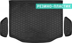 Коврик в багажник для Toyota RAV4 '13-18, с полноразмерным запасным колесом, резино-пластиковый (AVTO-Gumm)