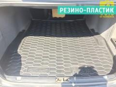 Коврик в багажник для BMW 5 E39 '96-03, седан, резино-пластиковый (AVTO-Gumm)