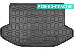 Коврик в багажник для Chery Tiggo 5 '14-, резино-пластиковый (AVTO-Gumm)