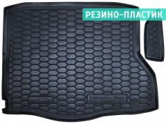 Коврик в багажник для Mercedes CLA-Class '13-, резино-пластиковый (AVTO-Gumm)