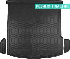 Коврик в багажник для Mercedes GLE-Coupe C292 '15-, резино-пластиковый (AVTO-Gumm)