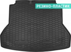 Коврик в багажник для Hyundai Elantra AD '16-, резино-пластиковый (AVTO-Gumm)