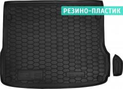 Коврик в багажник для Audi Q5 '08-17, резино-пластиковый (AVTO-Gumm)