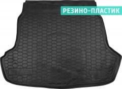 Коврик в багажник для Hyundai Sonata '15-, резино-пластиковый (AVTO-Gumm)