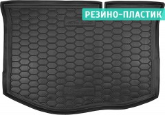 Коврик в багажник для Ford Fiesta '15-17, резино-пластиковый (AVTO-Gumm)
