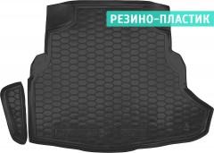 Коврик в багажник для Mercedes C-class W205 '14-, седан, резино-пластиковый (AVTO-Gumm)