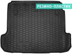 Коврик в багажник для Renault Fluence '09-, резино-пластиковый (AVTO-Gumm)