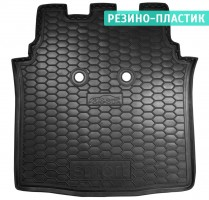 Коврик в багажник для Mercedes Smart Forfour '04-06, резино-пластиковый (AVTO-Gumm)