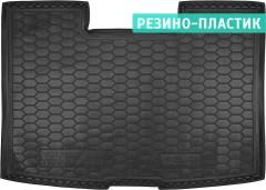 Коврик в багажник для Volkswagen Transporter T5 '10-15 Caravelle, корот. с печкой, резино-пластиковый (AVTO-Gumm)