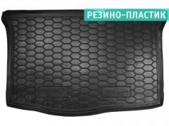 Коврик в багажник для Hyundai i-20 '16-, резино-пластиковый (AVTO-Gumm)