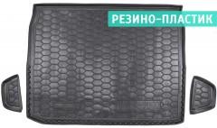 Коврик в багажник для Renault Kadjar '16-, верхний, резино-пластиковый (AVTO-Gumm)