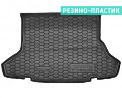 Коврик в багажник для Toyota Prius '09-15, резино-пластиковый (AVTO-Gumm)