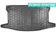 Коврик в багажник для Toyota Yaris '15-, резино-пластиковый, верхний (AVTO-Gumm)