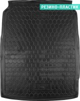 Коврик в багажник для BMW 5 F10 '10-16, седан, резино-пластиковый (AVTO-Gumm)