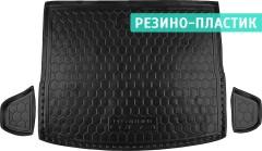 Коврик в багажник для Hyundai Creta '16-, резино-пластиковый (AVTO-Gumm)