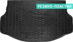 Коврик в багажник для Toyota RAV-4 '13-, hybrid, резино-пластиковый (AVTO-Gumm)