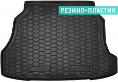 Коврик в багажник для ЗАЗ (Zaz) Forza / Chery A13 '11- хетчбэк, резино-пластиковый (AVTO-Gumm)