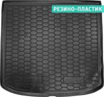 Коврик в багажник для Seat Altea XL 2007 - 2015, верхний, резино-пластиковый (AVTO-Gumm)