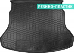 Коврик в багажник для Hyundai Accent с 2017 седан резино-пластиковый (AVTO-Gumm)