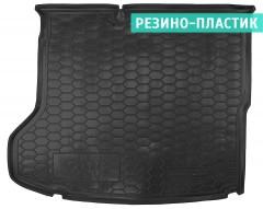Коврик в багажник для Hyundai Ioniq '16-, MID, резино-пластиковый (AVTO-Gumm)