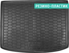 Коврик в багажник для Seat Altea 2004 - 2015 верхний, резино-пластиковый (AVTO-Gumm)