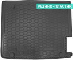 Коврик в багажник для BMW X3 F25 2010 - 2017 резино-пластиковый (AVTO-Gumm)