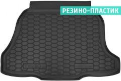 Коврик в багажник для Chery Tiggo 2 c 2016 резино-пластиковый (AVTO-Gumm)