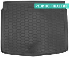 Коврик в багажник для Seat Altea 2004 - 2015 нижний, резино-пластиковый (AVTO-Gumm)