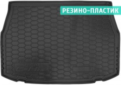 Коврик в багажник для Toyota C-HR c 2016 резино-пластиковый (AVTO-Gumm)