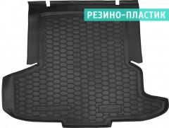Коврик в багажник для Opel Insignia '17-, лифтбэк, резино-пластиковый (AVTO-Gumm)