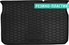 Коврик в багажник для Citroen C3 '17-, резино-пластиковый (AVTO-Gumm)