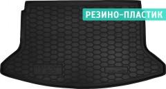 Коврик в багажник для Hyundai i30 PD '17- хетчбэк, резино-пластиковый (AVTO-Gumm)