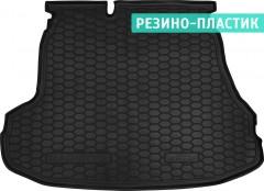 Коврик в багажник для Kia Magentis '06-11, резино-пластиковый (AVTO-Gumm)