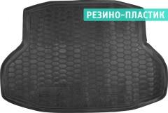 Коврик в багажник для Honda Civic 4D '17-, резино-пластиковый (AVTO-Gumm)