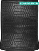 Коврик в багажник для BMW 5 G30 '17- M-Paket, седан, резино-пластиковый (AVTO-Gumm)
