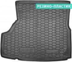 Коврик в багажник для BMW 3 E36 '90-99 седан, резино-пластиковый (AVTO-Gumm)