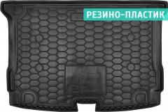 Коврик в багажник для BMW i3 '13-, резино-пластиковый (AVTO-Gumm)