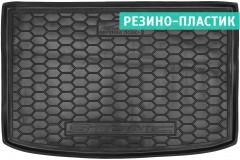 Коврик в багажник для Kia Stonic '18-, верхний, резино-пластиковый (AVTO-Gumm)