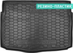 Коврик в багажник для Kia Stonic '18-, нижний, резино-пластиковый (AVTO-Gumm)