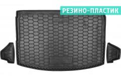 Коврик в багажник для Subaru XV 2017 - резино-пластиковый (AVTO-Gumm)