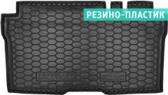 Коврик в багажник для Peugeot Traveller 2016-, резино-пластиковый (AVTO-Gumm)