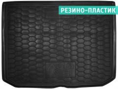 Коврик в багажник для Audi A3 '12- Sportback резино-пластиковые, черные (AVTO-Gumm)